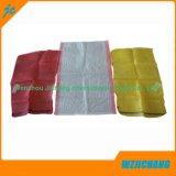 Sacchetti di plastica tessuti pp biodegradabili di bianco di 100% da vendere