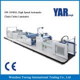 Máquina que lamina de la venta Sw-1050gl de la película automática de alta velocidad superior del cortador de urdimbre con Ce