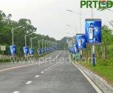 Visualización de LED de la tarjeta de control de WiFi/3G/USB para el borde de la carretera al aire libre que hace publicidad (P5, P6)