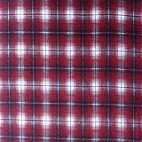 Tessuto 100% della flanella del tessuto di cotone per la coperta/indumento