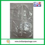 Sacos de vestuário de suspensão sem costura não fabricados com vinil transparente
