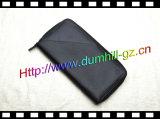 Бумажник перемещения пасспорта застежки -молнии кожаный