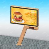 掲示板を広告する屋外の掲示板の構造中国LED表示掲示板を広告する二重側面LED