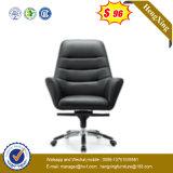 Il più bene presidenza di cuoio bassa di alluminio su posteriore dell'ufficio (NS-058B)