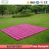 Coperta di campeggio impermeabile della coperta di picnic di formato della stuoia della spiaggia del panno morbido polare grande