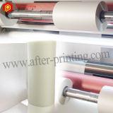 Película que lamina termal transparente colorida del tacto suave del sentido de la película/del terciopelo del tacto suave
