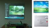 Bereifter ausgeglichenes Glas-Projektions-Bildschirm mit magnetischer Funktion