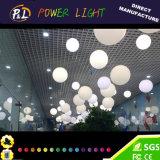 Lámpara colgante pendiente decorativa blanca caliente del LED