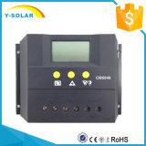 écran LCD solaire de contrôleur de 50A 48V pour l'usage d'intérieur Cm5048 de maison de système solaire
