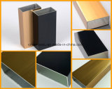 미늘창을%s 건설물자 분말 외투 알루미늄 단면도