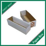 Contenitore ondulato pieghevole su ordinazione di scatola di carta delle caselle di carta del Brown