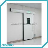 La porte coulissante serrée de l'air Qtdm-13 avec la poudre de plaque en acier a enduit