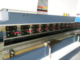 Машина Wc67k-160t*3200 Delem Da41s алюминиевая складывая для оси 2