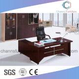 Escritorio de oficina útil con muebles laterales del Credenza