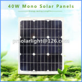 40W高性能のモノラル回復可能な省エネPV Solar パネル