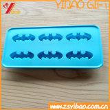 6 cavità quadrano il cassetto del cubo di ghiaccio del silicone del commestibile