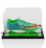 Витринный шкаф ботинка футбола верхнего качества акриловый