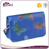 O melhor saco de Tote de venda da bolsa do couro do projeto da borboleta dos sacos do Único-Ombro para mulheres