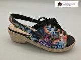 شريط مريحة [أوو] عرضيّة منتصفة وحيد إسفين [إسبدريلّ] أحذية نساء
