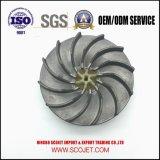 El magnesio Am60b de la alta calidad a presión el impulsor de la fundición con el eje