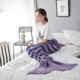 Cobertor acrílico da sereia, sereia do cobertor do cobertor da cauda da sereia