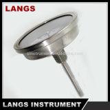059 63mmの高品質のバイメタルの管の温度計のステンレス鋼