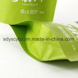 중국 공급자는 음식을%s 지플락 주머니를 또는 Doypack 또는 Resealable 부대 위로 서 있다