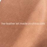Polished кожа PU синтетики для ботинок Hx-S1710 людей женщин