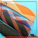 Sleeving trançado expansível de nylon antiestático para a pesca Ros da mosca