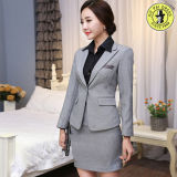 Design High-Grade Women Customized Suit Dress Factory