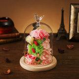 Flor para el regalo de cumpleaños del día de tarjeta del día de San Valentín de la decoración del día de fiesta