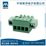 Быстро тип разъем штепсельной вилки провода космоса терминальных блоков 5.08mm прямоугольный
