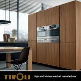 アメリカの白いシェーカー様式の木製の台所家具(AP035)