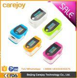 Oxímetro de pulso de dedo com dedal portátil Oximetro Azul / Branco / Verde / Laranja / Rosa Vermelho SpO2 Sensor-Fanny