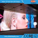 Hoher örtlich festgelegter farbenreicher Bildschirm Innen-LED der Auflösung-P3 Fernsehapparat