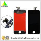 Affissione a cristalli liquidi all'ingrosso del telefono della fabbrica per la visualizzazione dell'affissione a cristalli liquidi di iPhone 4S