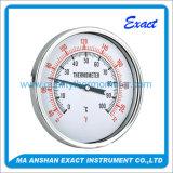 Personalizado de la venta caliente inoxidable Termómetro bimetálico