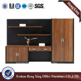 Mobília de escritório de madeira do gabinete de armazenamento da biblioteca das portas da mobília 4 (HX-6M286)