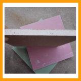Placa de gipsita com três cores diferentes para o teto