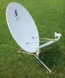 antena de plato suelta de aluminio de los 0.9m Vsat