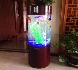 円のアクリルのアクアリウムの魚飼育用の水槽