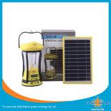Indicatore luminoso di campeggio solare portatile moderno con la funzione multipla