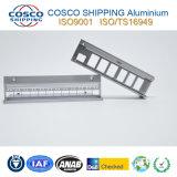 Profil en aluminium/en aluminium d'extrusion avec la commande numérique par ordinateur de précision usinant et poinçonnant et anodisant (ISO9001 : 2000 certifié et RoHS certifié)
