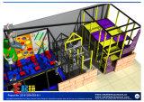 Новая конструкция для крытой спортивной площадки с структурой установки