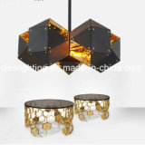 Современный минималист канделябр конструкции днаа привесного светильника украшения виллы