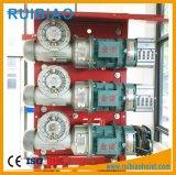 Caja de engranajes del reductor del engranaje de gusano de los recambios de la construcción, reductor de velocidad del alzamiento