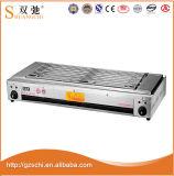 Niedriger Preis kommerzielles elektrisches BBQ-Gitter mit Temperaturregler