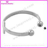Brazalete de acero inoxidable 316L brazalete de cremación brazalete conmemorativo recuerdo brazalete de moda para las mujeres (IJB5083)