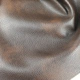 Couro de imitação do PVC da espessura da grão 1.2mm do Litchi para a tela do sofá (788#)