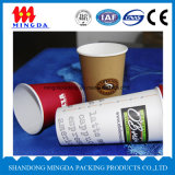 Einzelne Wand-Papier-Wegwerfkaffeetasse